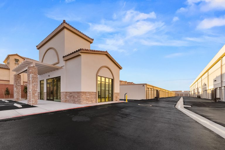 Storage facility completed at 7000 W Cactus Ave Las Vegas NV