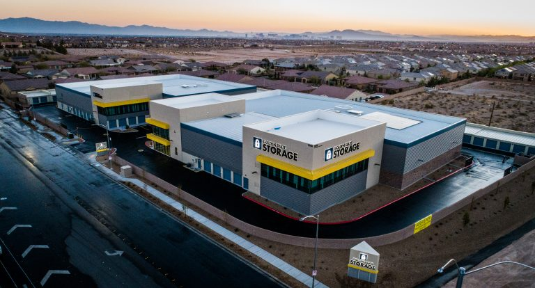 Construction Projects -Our work Golden State Storage Facility